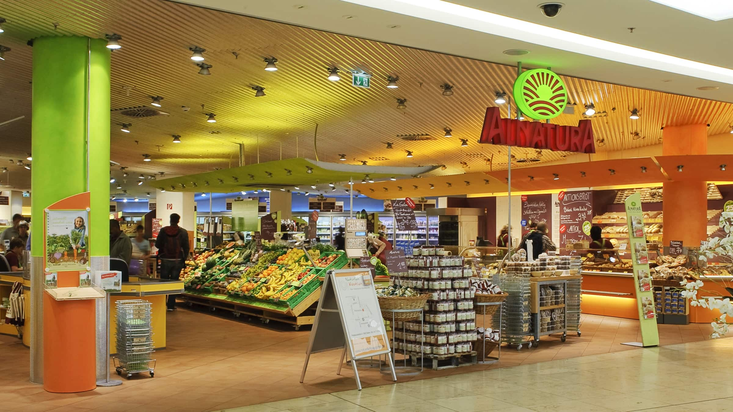 Alnatura Bio-Märkte: Alle Alnatura Supermärkte auf einen Blick!