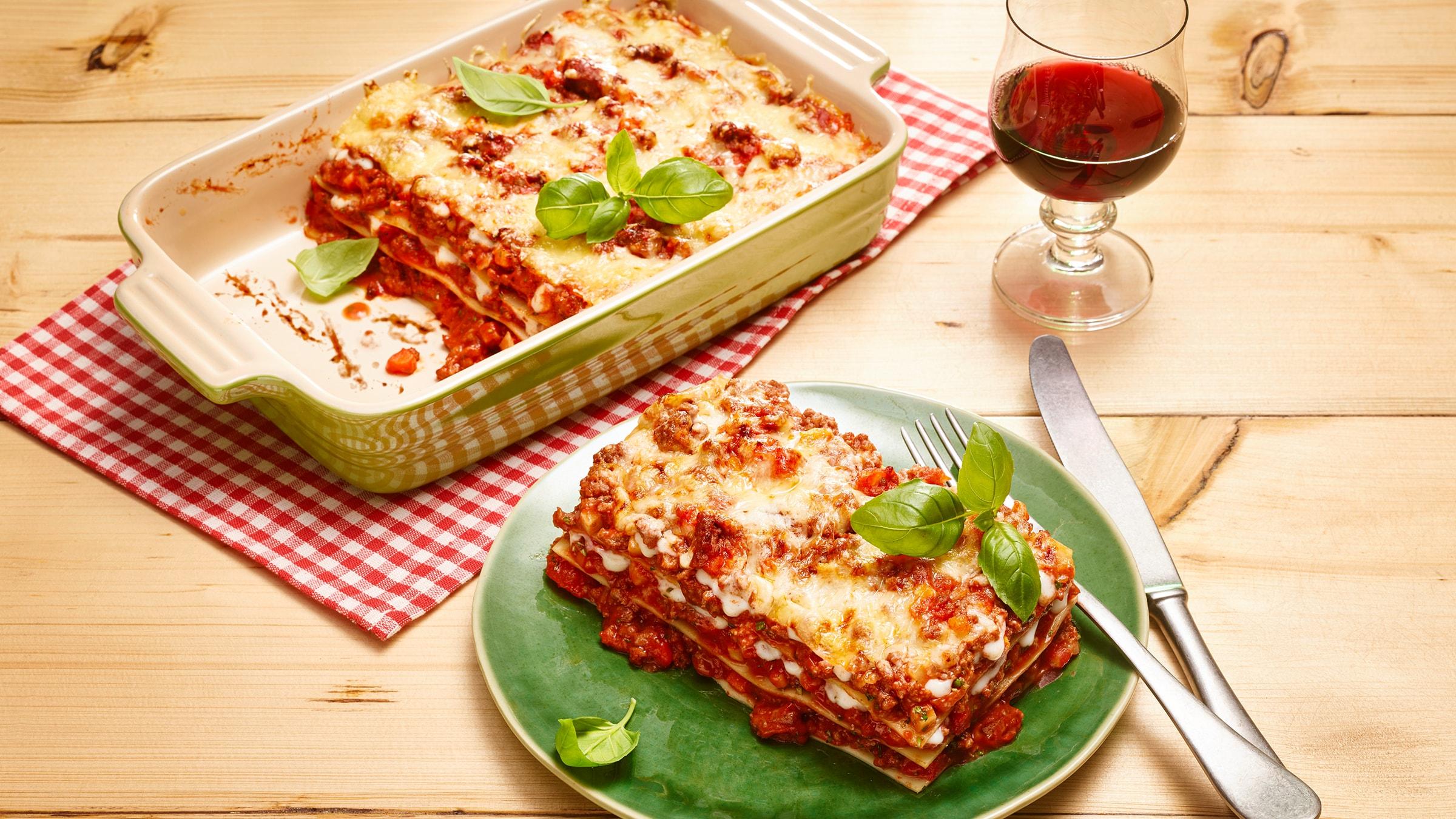 Lasagne Rezept Selbst Machen Alnatura